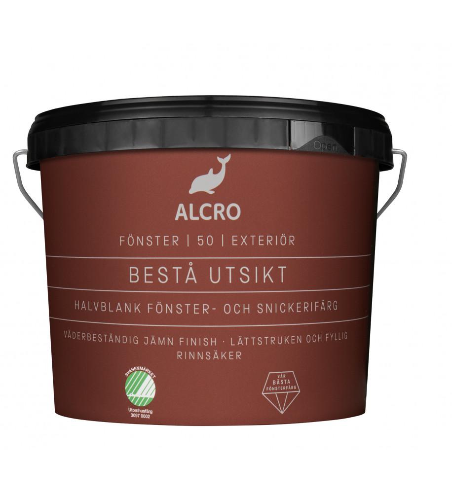 Alcro Bestå Utsikt Fönsterfärg