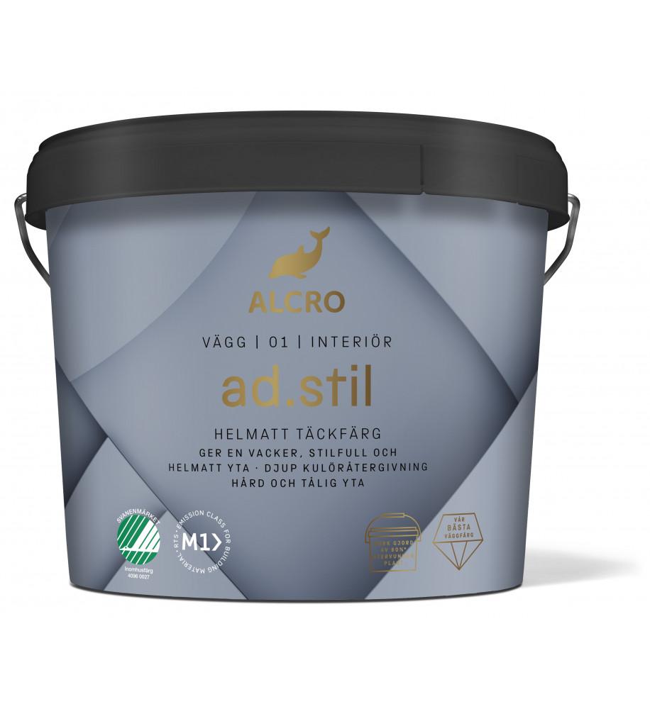 Alcro AD Stil Helmatt Väggfärg