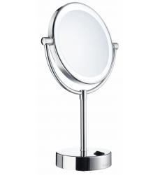 Smedbo Sminkspegel på Fot med Ledbelysning Outline